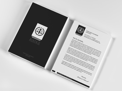 creative lawyer letterhead 5