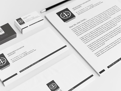 Creative Lawyer Identity Package - 5
