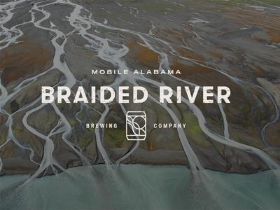 Braided River Brewing Company Identity