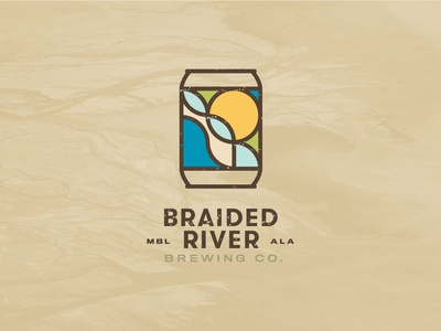 Braided River Brewing Company Identity