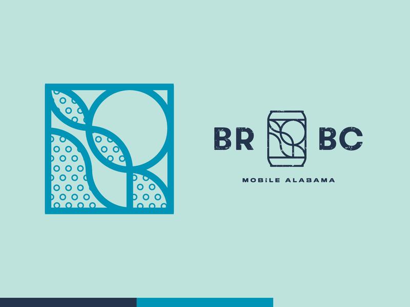 Braided River Brewing Company brewery logo typography logo branding