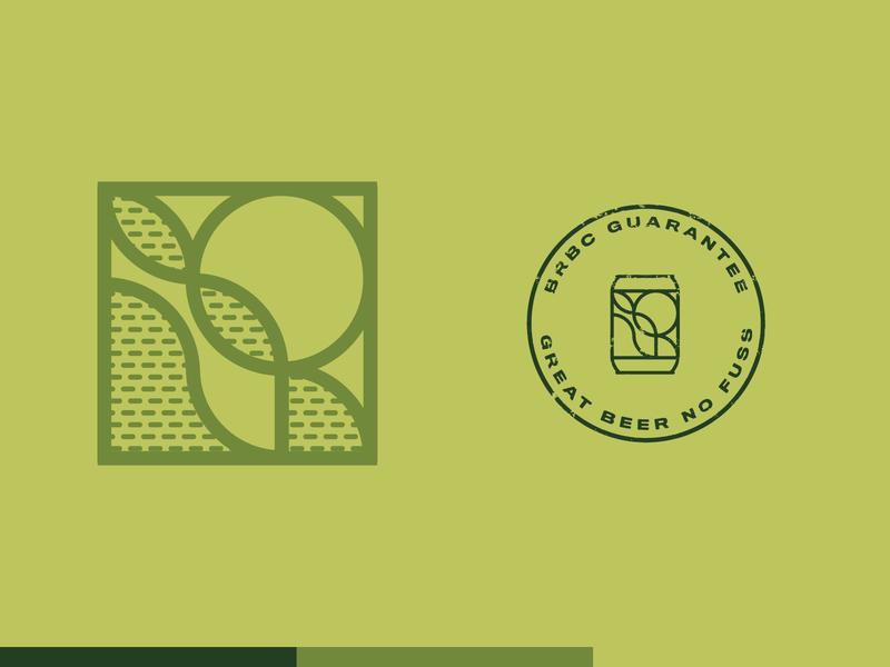 Braided River Brewing Company Identity brewery logo logo typography branding