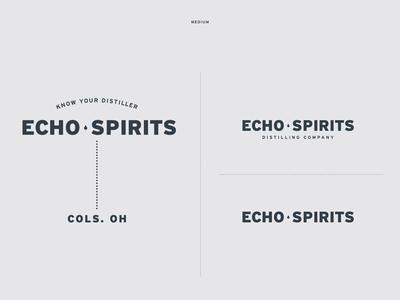 Echo Spirits Distilling Identity Elements