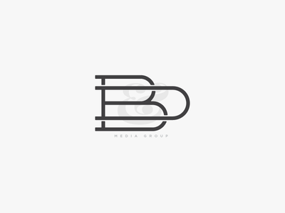 D & B Monogram calligraphy lettering typography typeface monogram
