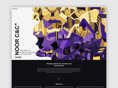 Noor C&C | Web Design & Illustration