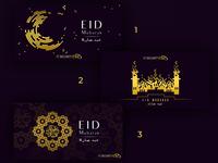 1, 2 or 3? | Eid Invitation Cards
