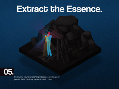 5. EXTRACT THE ESSENCE