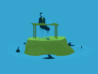 Avoid Risk   Landing Page Illustrations