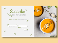 Daily UI 026 : Suscribe