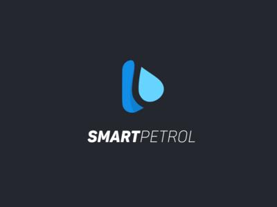 SMARTPETROL logo vector smart petrol minimal logotype logo design