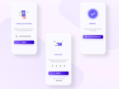 Mobile Verification UI/UX