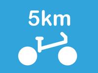 Bike Icon 5km