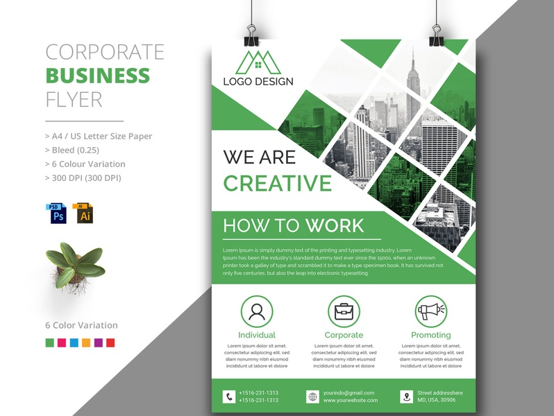 Corporate Business Flyer Design