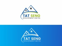 Tat Seng Real Estate Logo Design