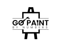Go Paint By Numbers Logo Design