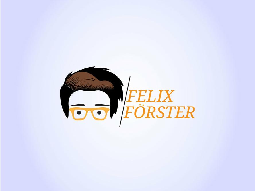Felix Forester Logo Design type mobile dribbble best shot identity website lettering minimal icon flat ui design vector ux typography cute creative branding app web logo