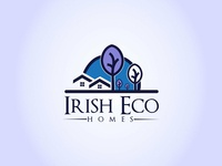 Irish Eco Homes Logo design