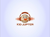 Kid Jupter Logo Design