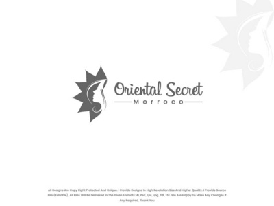 Oriental Secret Logo Design