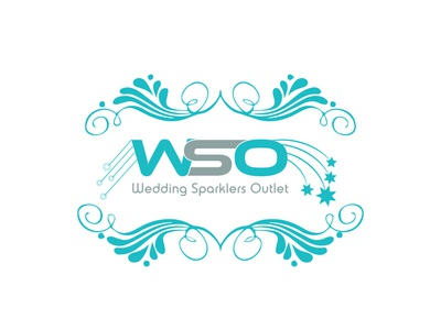 WSO Wedding Sparkles outlet Logo design