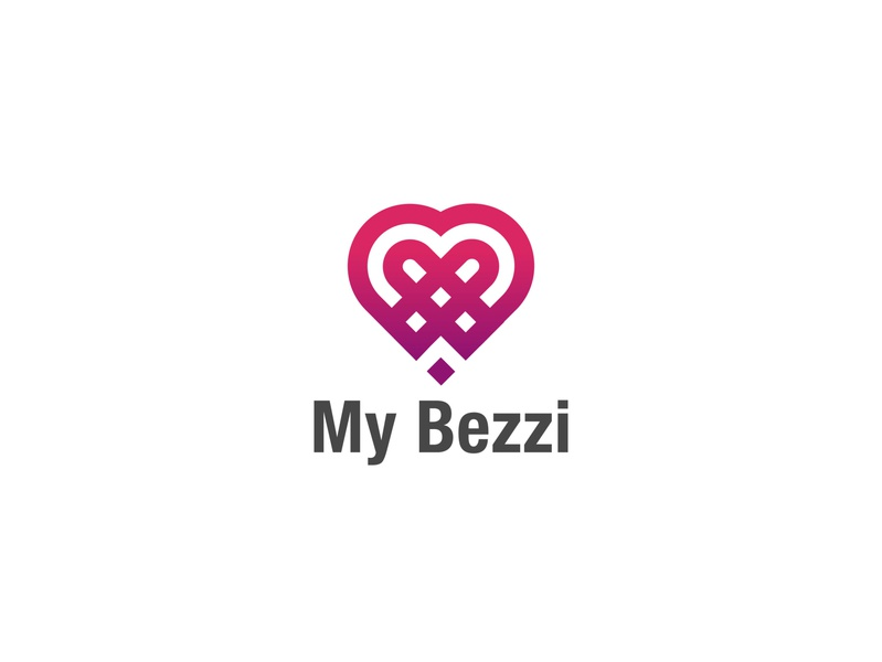 My Bezzi Love Logo design