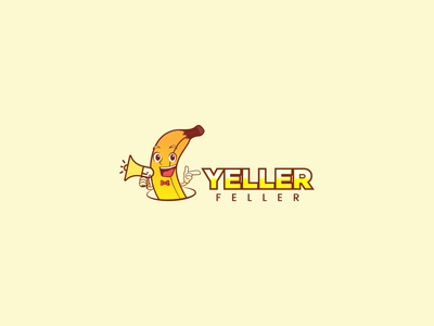 Yeller Feller Logo Design