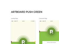 Push GREEN - Artboard