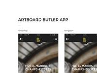 Butler App - Artboard