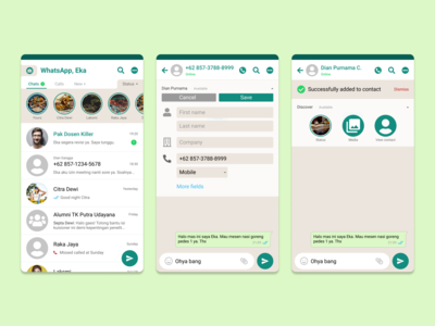 "Tackle WhatsApp's ""Add To Contact First"""