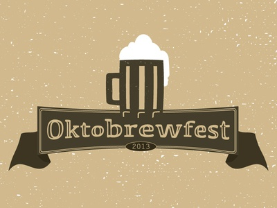 Oktobrewfest beer oktoberfest octoberfest german banner logo festival 2013