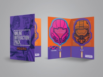 Aggro - School-pack awareness call to action package mockup package design educational editorial graphic  design