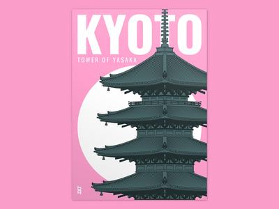 Tower of Yasaka - Kyoto