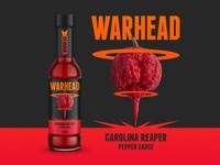 Warhead: Carolina Reaper pepper sauce