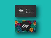 Peep - Business card