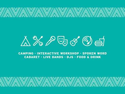 Crash the Party - Program Icons illustrator icons set icons branding graphic  design