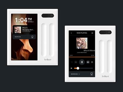 Sonos on the Brilliant Smart Home Control smarthome iot ux ui design