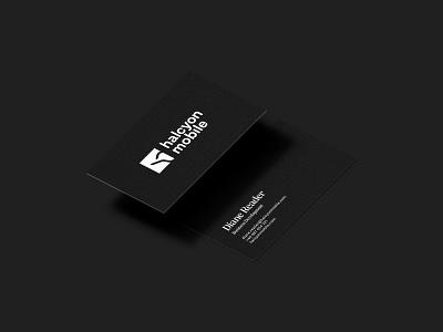 Company Business Card branding brand contrast minimalist logo black and white stationery print design graphic design business card businesscard