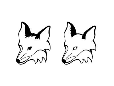 Fox - WIP fox wip vector illustration
