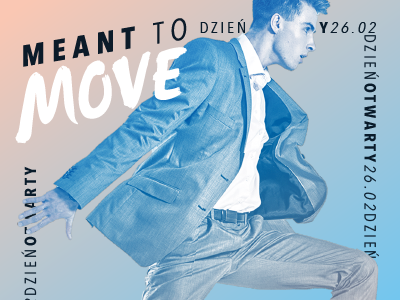 Meant To Move Dance Studio Leaflet