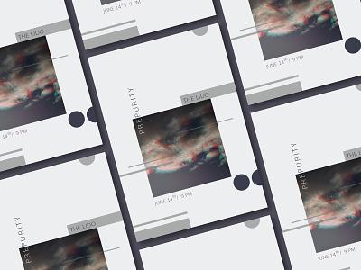 Prepurity posters poster typography print design photograph glitch graphic  design geometic design