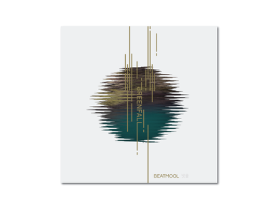 Greenfall electronic photoshop single album cover cover design cover music greenfall beatmool poster photograph graphic  design design