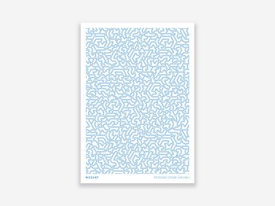 Ricount Poster pattern branding print design art director brand identity poster geometic graphic  design design