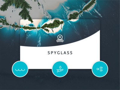 Spyglass logo visual identity icon vector branding logo brand identity app illustration graphic  design design