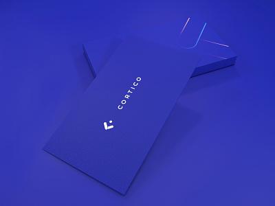 Cortico visual identity print design icon brand identity logo branding graphic  design design
