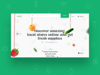 Grocery Store Landing Page