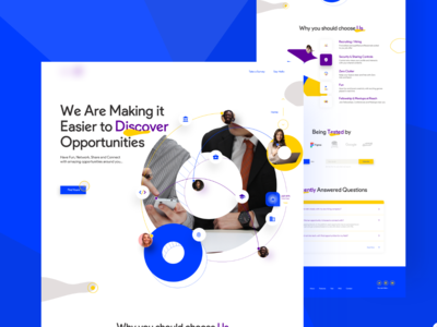 O Project Marketing Page