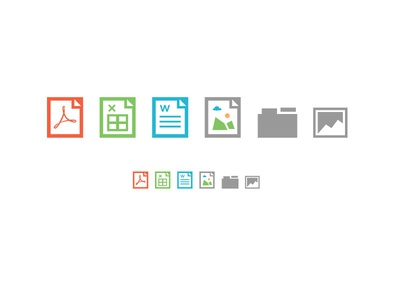 File type icons