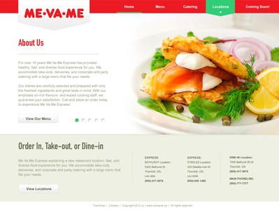 Me Va Me Website