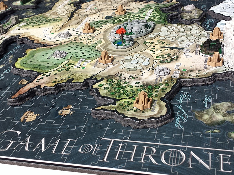 Game of thrones puzzle artwork by dury dribbble got 5 gumiabroncs Gallery