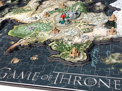 Game of Thrones Puzzle Artwork